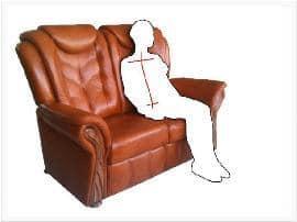 Alacsony támlás bőr ülőgarnitúrák kényelme